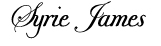 Syrie James Signature
